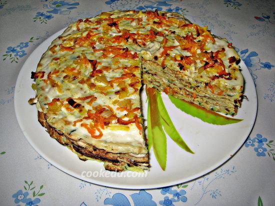 Торт из кабачков-21