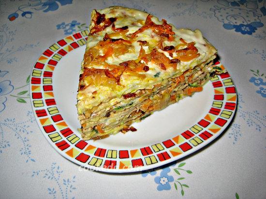 Торт из кабачков-22