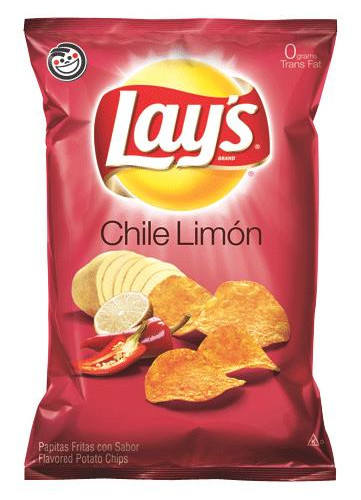чипсы со вкусом лимона и чили