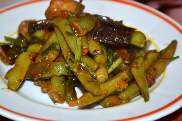 овощное рагу из стручковой фасоли рецепт