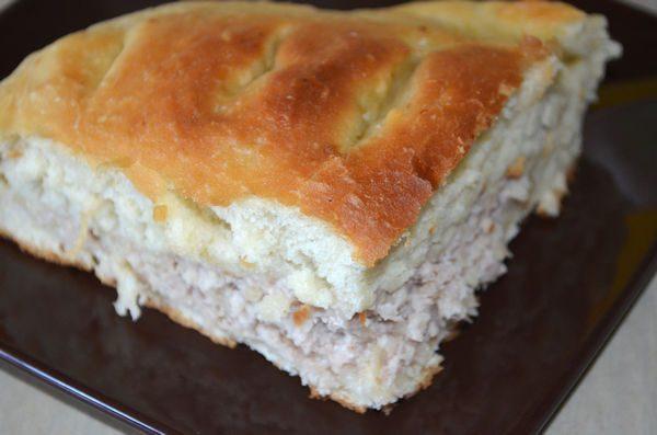 пироги с мясом из дрожжевого теста рецепт
