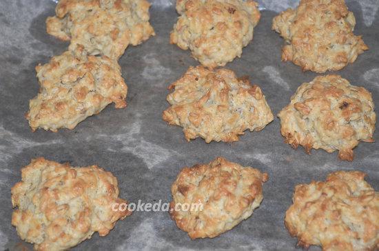Печенье из овсяных хлопьев-10