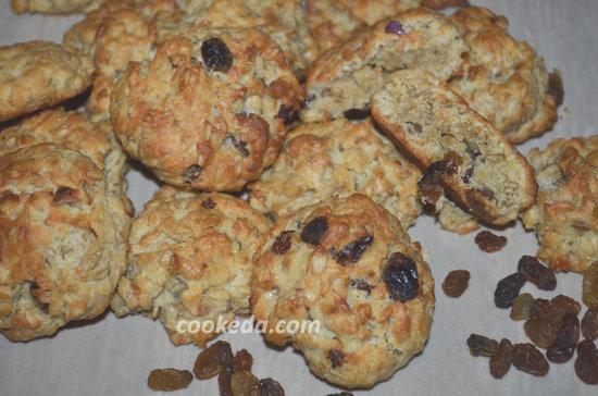 Печенье из овсяных хлопьев-11