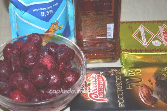 """торт """"Пьяная вишня""""-03"""