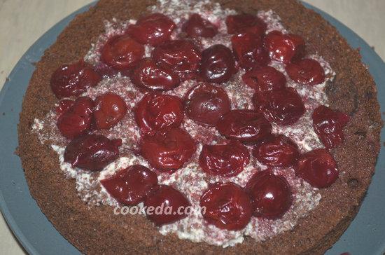 """торт """"Пьяная вишня""""-11"""