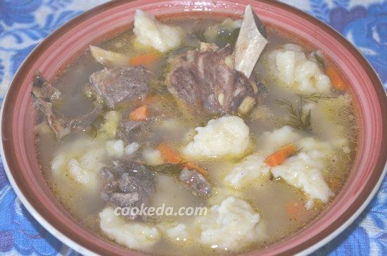 суп с говядиной и клецками-01