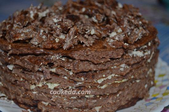 Торт из куриной печени и сердец-16