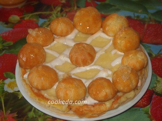 Торт Оноре сент-рецепт-13