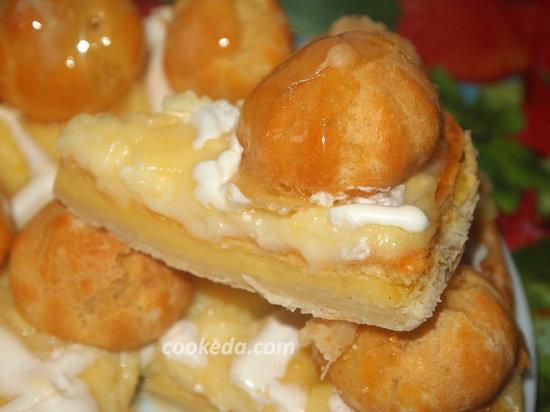 Торт Оноре сент-рецепт-14