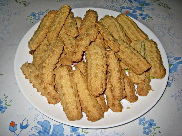 рецепт песочного печенья для мясорубки