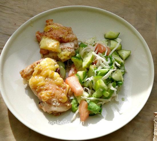 Куриные бедра с сыром-01