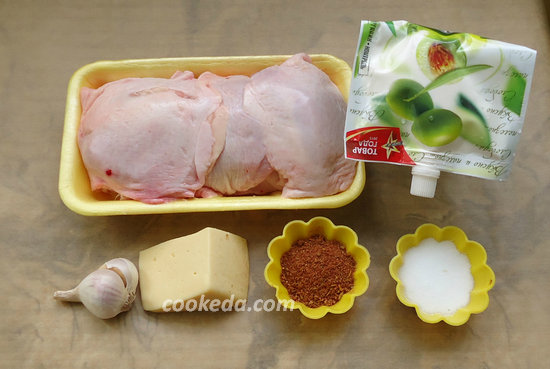 Куриные бедра с сыром-02