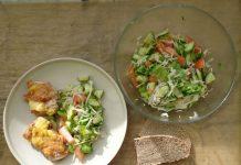 Куриные бедра с сыром и майонезом. Рецепт с фото