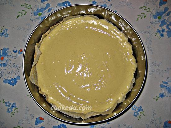 пирог с яблоками в духовке-13