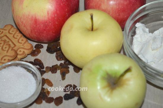Как испечь яблоки с изюмом-02