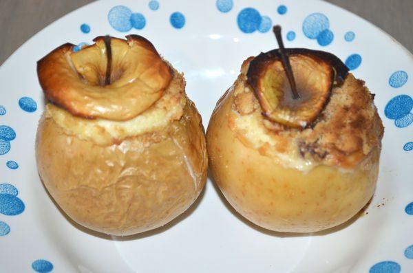 Как испечь яблоки с изюмом