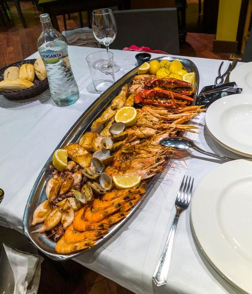 Морепродукты в Астурии