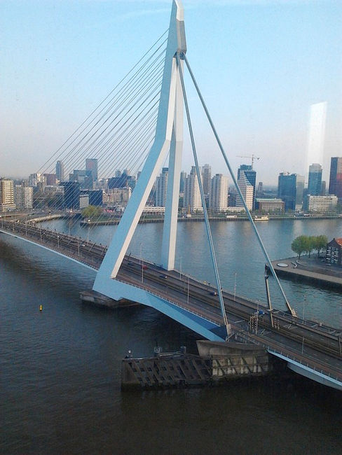 Символ Роттердама — мост Эразма