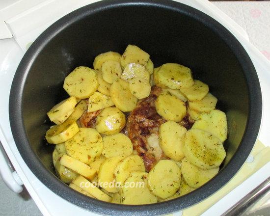 Курица запеченная с картошкой-09