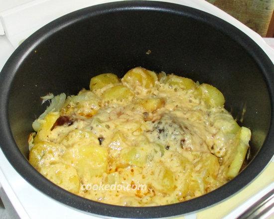 Курица запеченная с картошкой-13