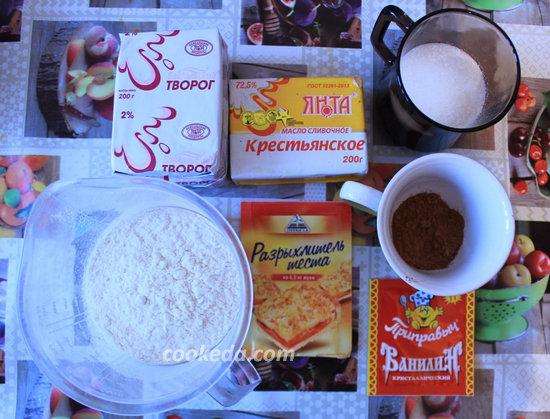творожное печенье с какао-01