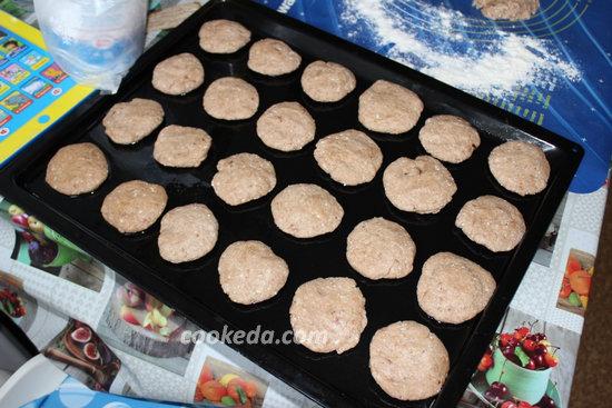 творожное печенье с какао-09