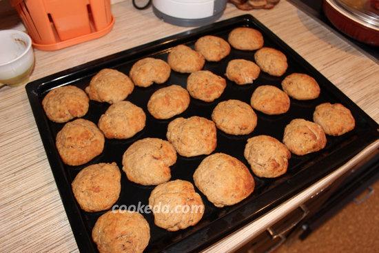 творожное печенье с какао-10