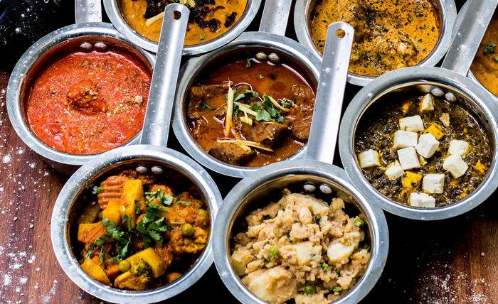Новогоднее индийское меню