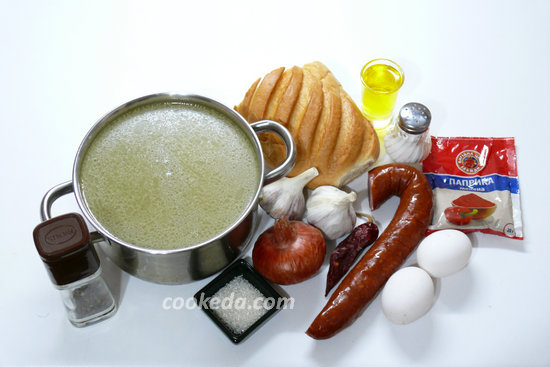 Чесночный суп Краковский-01