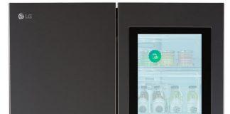 LG Smart Instaview Refrigerator дисплей