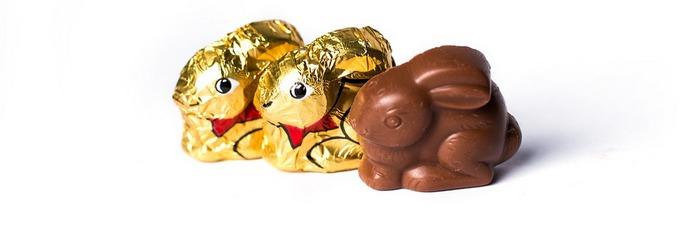 Шоколадный пасхальный кролик