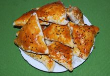 Самса с тыквой и луком - пошаговый рецепт