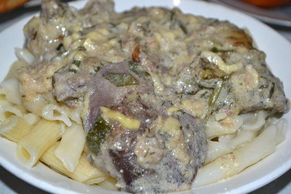 отбивные из свиной печени - пошаговый рецепт