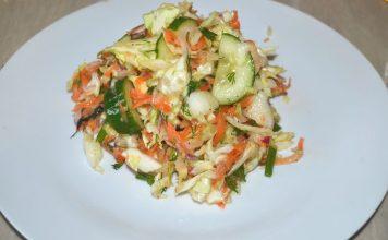 Весенний салат - пошаговый рецепт