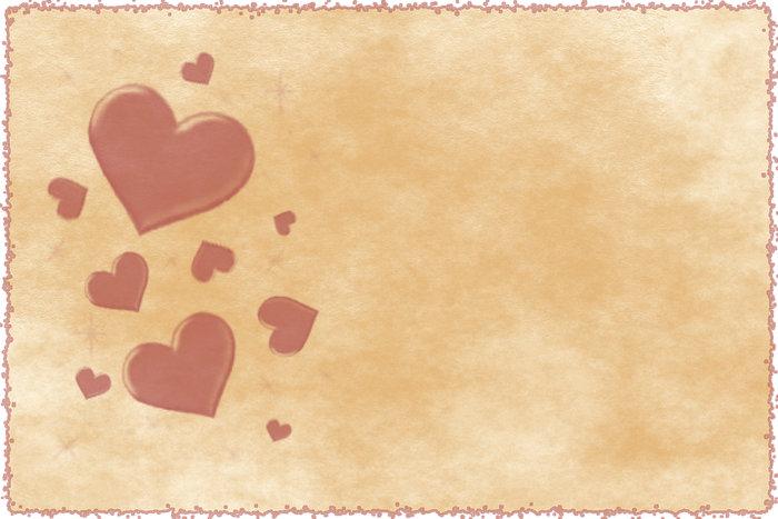 Валентинка - открытка