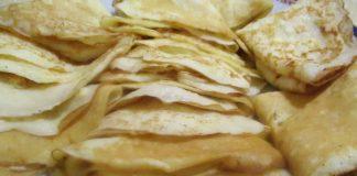 Блинчики на кефире - пошаговый рецепт