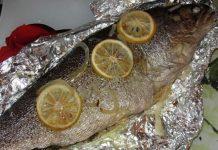 Форель в фольге - пошаговый рецепт