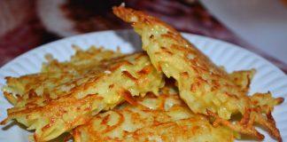 Картофельные драники - пошаговый рецепт