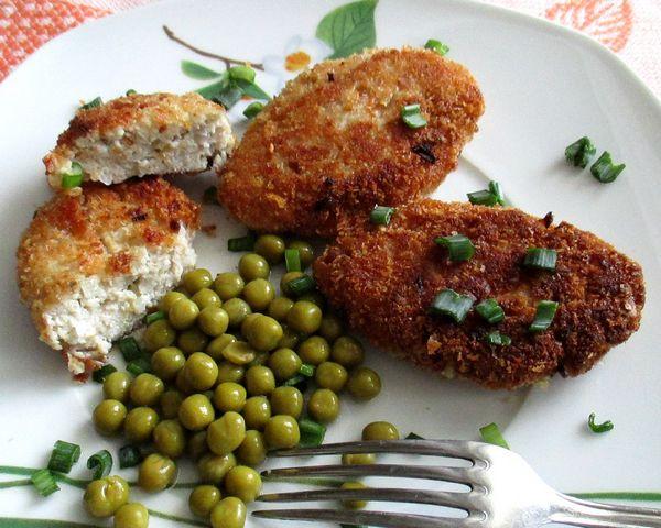 Рыбные котлеты с творогом - пошаговый рецепт