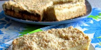 Песочный пирог с творогом - пошаговый рецепт