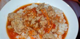 Подливка из свиного фарша - пошаговый рецепт