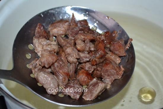 Гуляш с мукой из свинины с подливкой рецепт с пошагово в