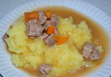 Подливка из свинины - пошаговый рецепт