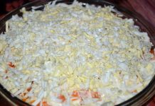 Салат с капустой и курицей - пошаговый рецепт