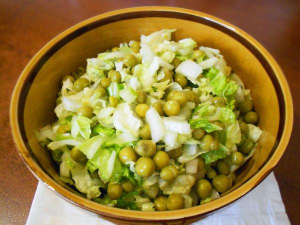 Салат из пекинской капусты - пошаговый рецепт