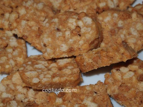 Сливочная колбаска из печенья со сгущенкой