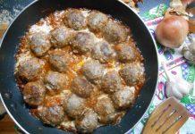 тефтели из гусиного фарша - пошаговый рецепт