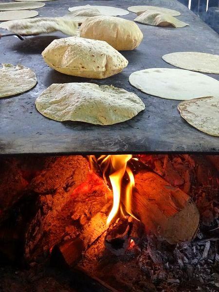 Приготовление лепешек тортилья