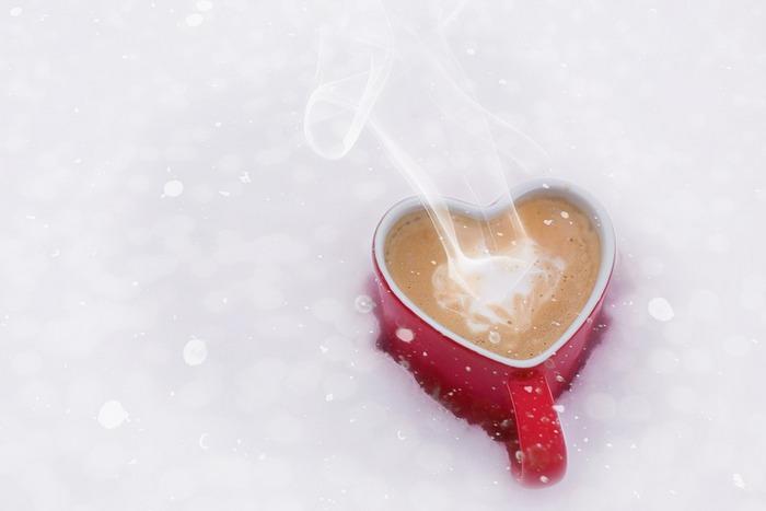 Валентинка кружка-сердце