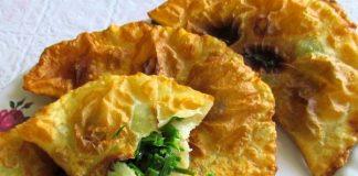 чебуреки с джусаем - пошаговый рецепт